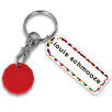 Rectangle Combo Trolley Coin Keyfobs