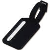 Plastic Travel Luggage Tags in Black