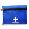 First Aid Kit With Belt Clip Attachment in Cobalt Blue