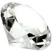 60mm Crystal Diamonds in Clear