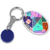 Oval Combo Trolley Coin Keyfobs