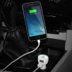 Oval Illuminated Duo USB Car Chargers