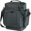 Multi Pocket Cooler Bag in Black