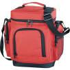 Multi Pocket Cooler Bag in Red