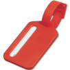 Plastic Travel Luggage Tags in Red