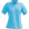 Slazenger Ladies Polo Shirts in Aqua
