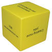 Personalised Cube Shaped Stress Ball for Office Merchandise