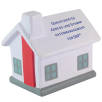 Branded House Shaped Stress Balls offer great space for your designs