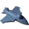 Promotional Stress Fighter Jets for Event Merchandise
