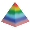 Stress Pyramid in Multicolour