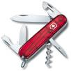 Victorinox Spartan Pocket Knife in Translucent Red