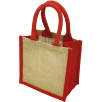 Wells Jute Tiny Gift Bags in Red