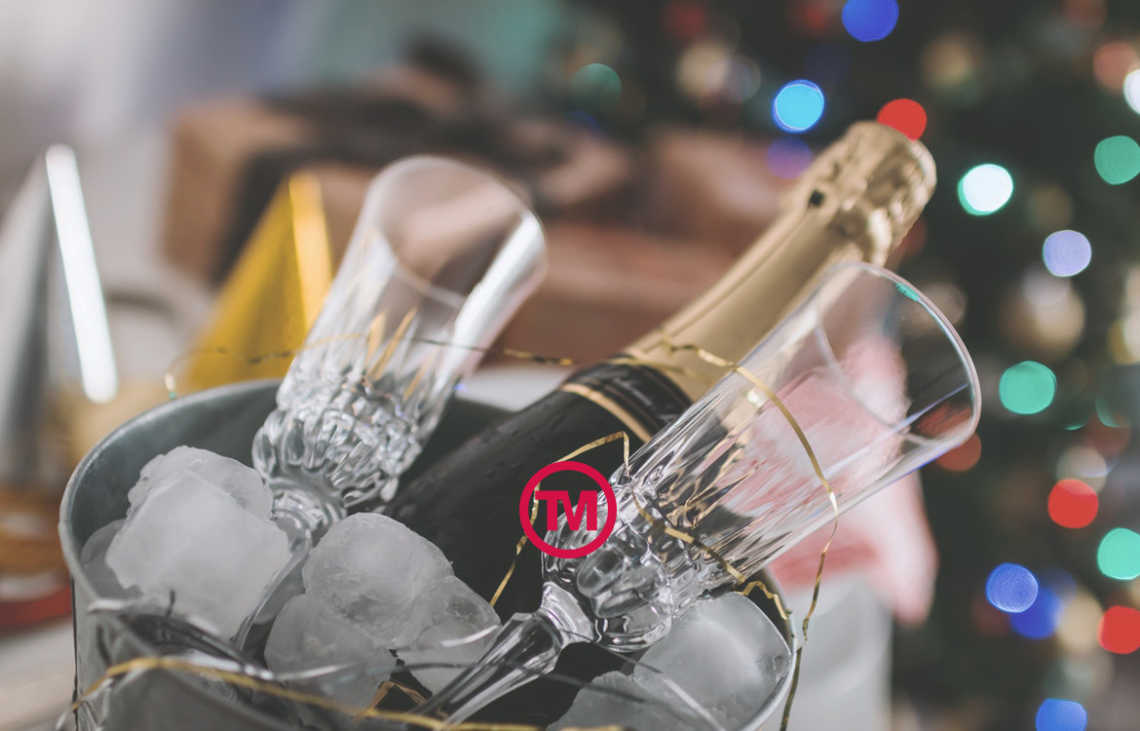 Feeling generous this Christmas? Give your clients a bottle of your own label Champagne