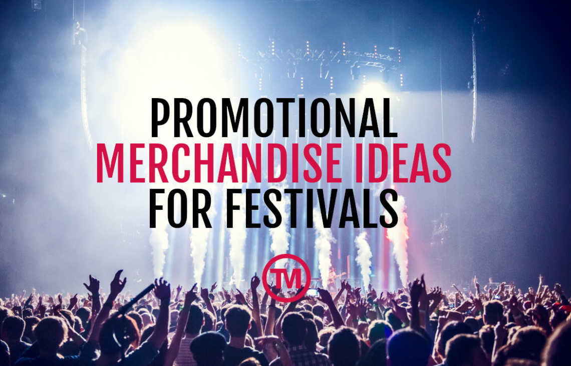 Last-Minute Promotional Merchandise For Festivals