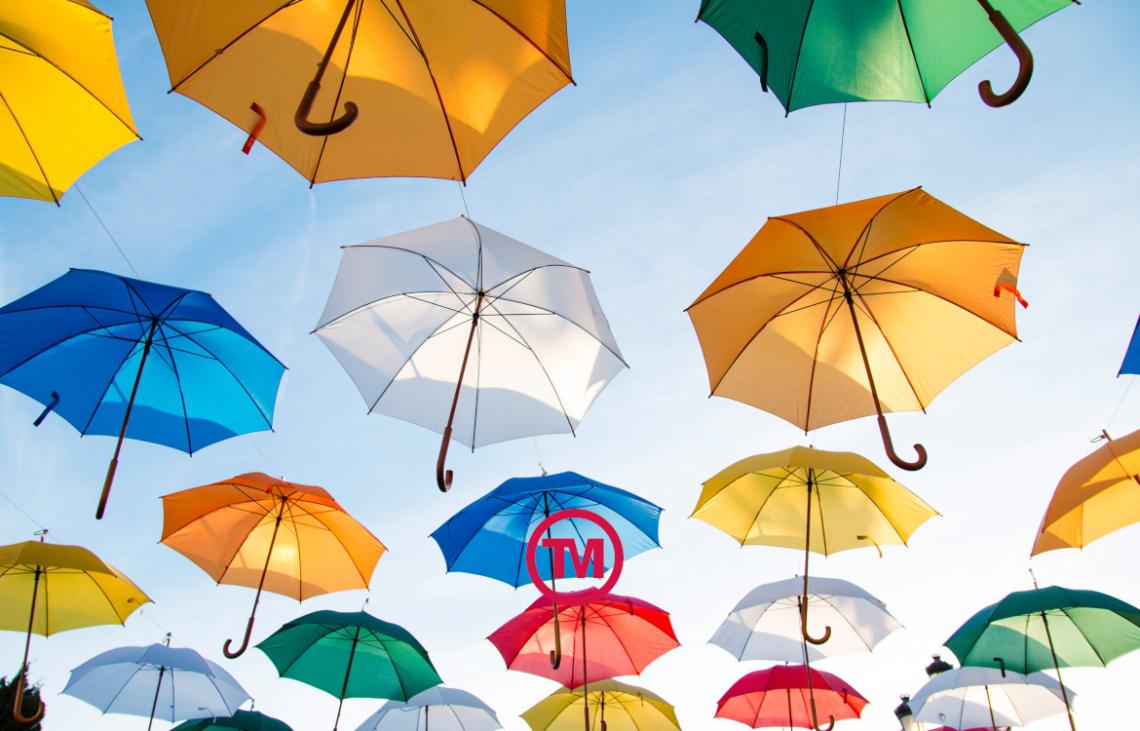 Branded umbrellas & promotional ponchos
