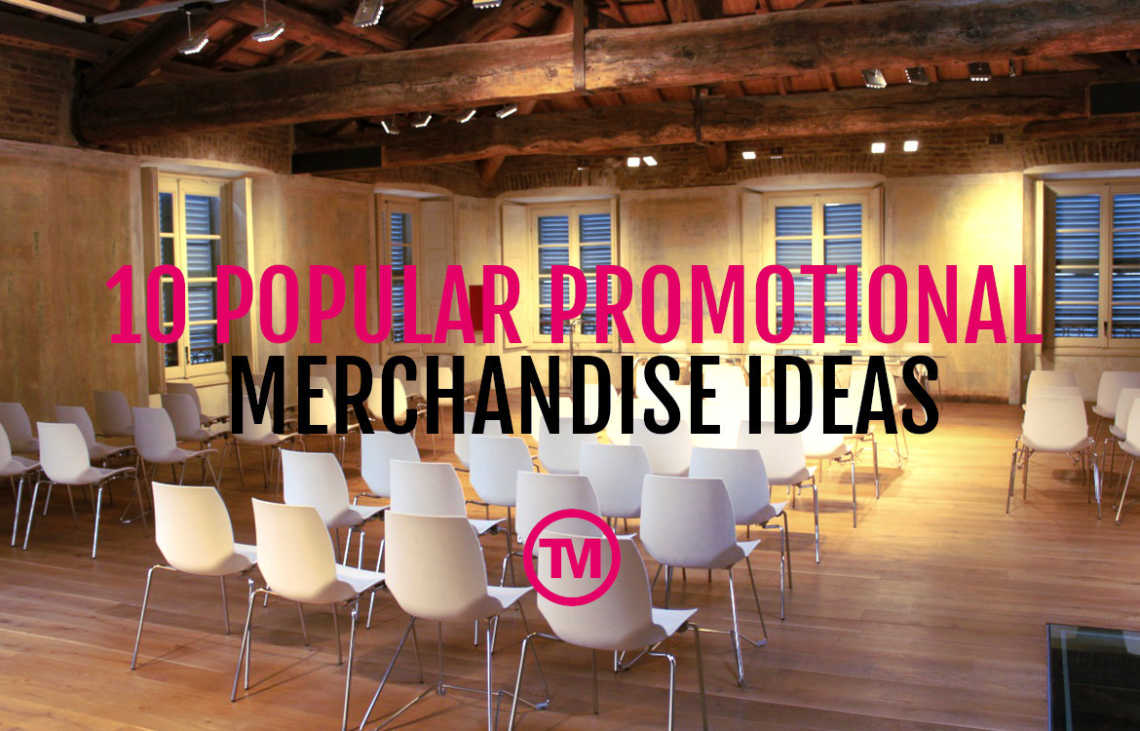 Revealed: the most popular promotional merchandise items