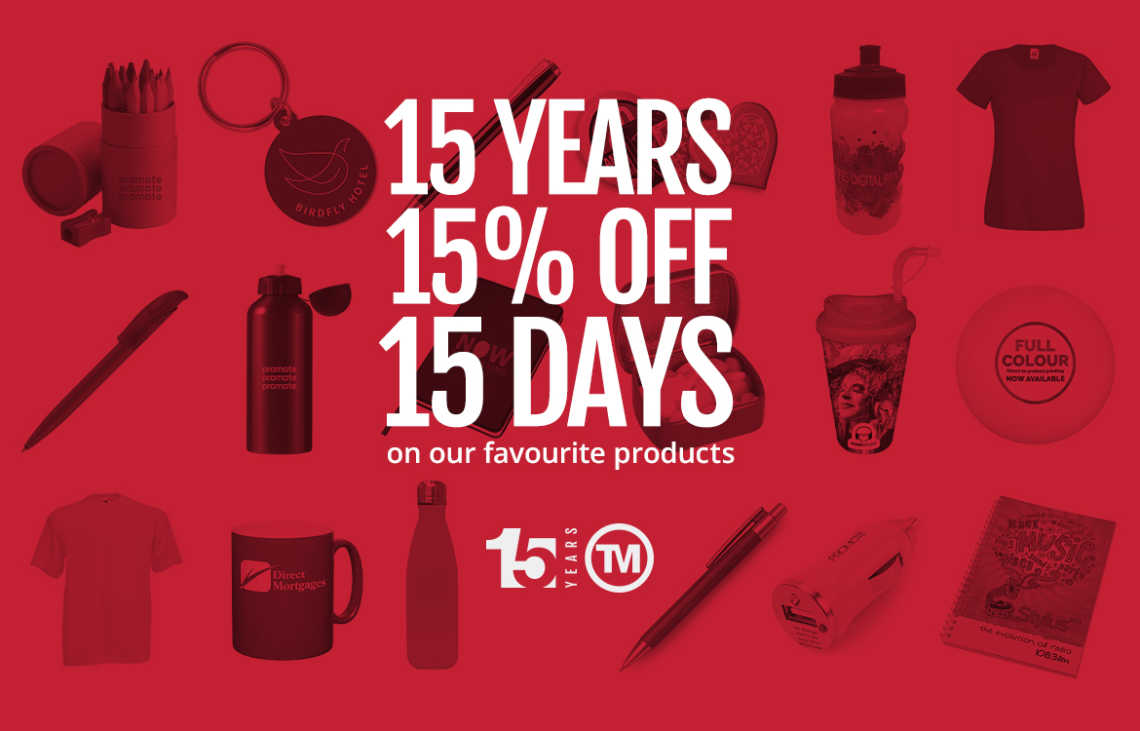 BROWSE: 15 Highlights From Our 15th Birthday Discount Offer