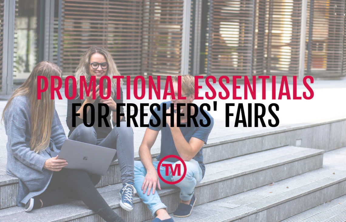 Ideas for promotional freshers fair freebies