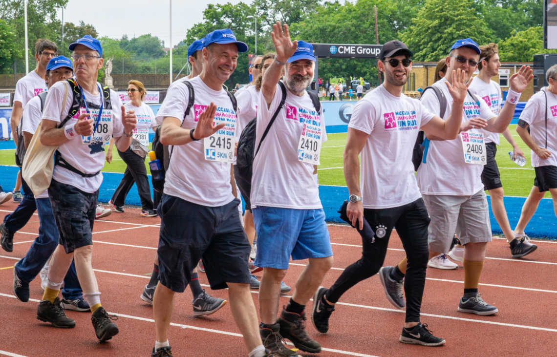 Total Merchandise partners with Norwood for charity fun run