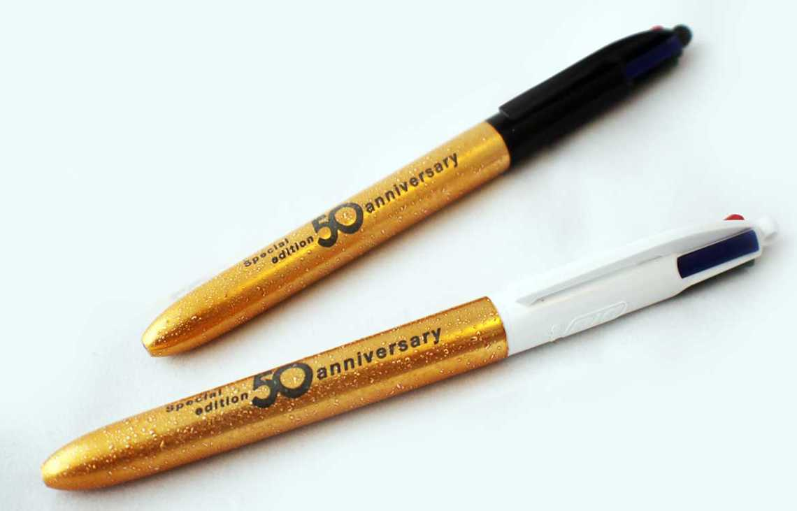 Happy 50th Birthday To The BiC Four Colour Pen
