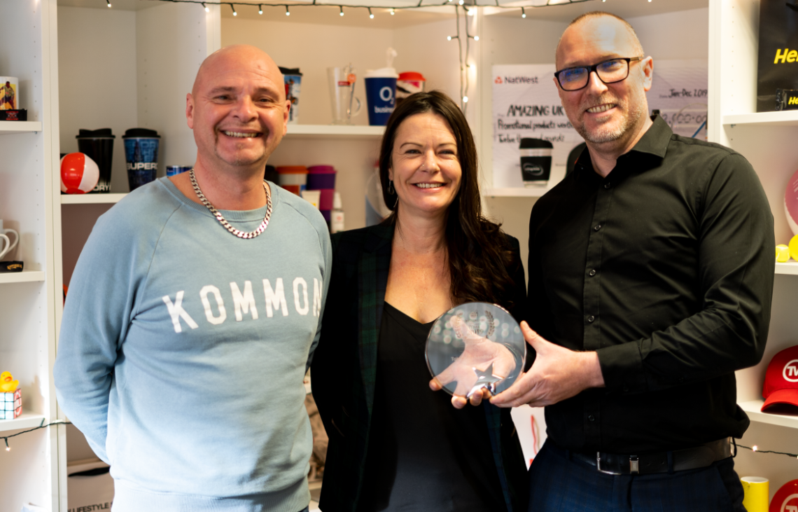 Total Merchandise wins promotional merchandise Distributor of the Year
