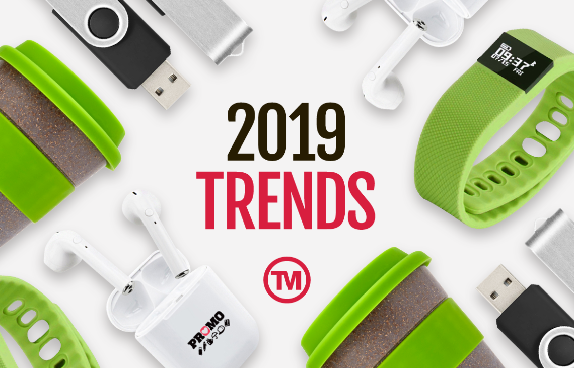 How To Keep Your Promotional Merchandise On Trend In 2019