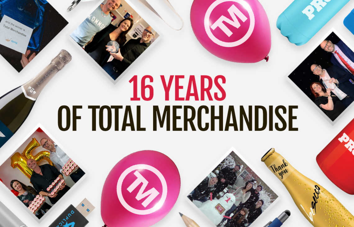 Happy Birthday To Us! Total Merchandise Turns 16