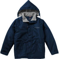 Slazenger Mens Under Spin Insulated Jackets in Navy