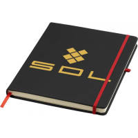 Large Noir Promotional Notebooks In Black/Red