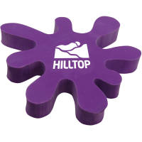 Customisable Splat Erasers in purple from Total Merchandise
