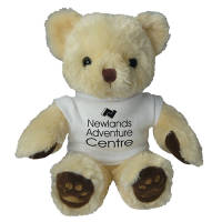 Printed 10 Inch Chester Bear with T Shirt for promotional events