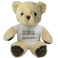 Printed 15 Inch Chester Bear with T Shirt for corporate events