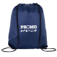 Promotional Everyday Drawstring Bags Printed with a Logo by Total Merchandise