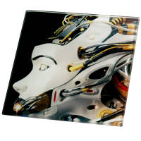 Promotional Full Colour Toughened Glass Coasters