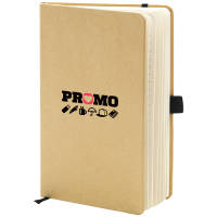 Promotional A5 Recycled Paper Notebooks with custom branded logo