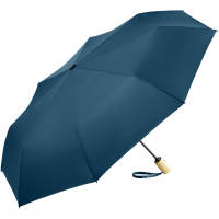 Promotional Printed Recycled Umbrella with PET canopy