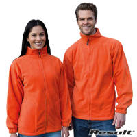 Promotional Result Active Polartherm Fleece Jackets with your Logo