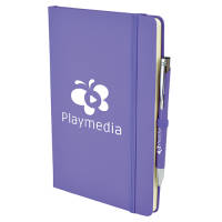 Promotional A5 Soft Touch Notebook and Pen Sets with your Logo