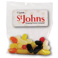 Promotional 55g Bags of Sweets for Company Merchandise