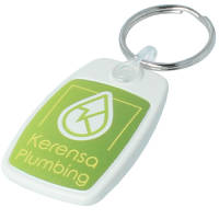 Promotional Recycled Plastic Keyrings Eco-Friendly Giveaways from Total Merchandise