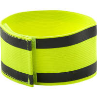 Promotional Reflective Armbands in bright yellow from Total Merchandise