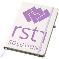 Custom Printed Notebooks Debossed With Your Artwork From Total Merchandise
