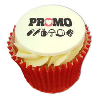 Promotional branded Frosted Cupcakes for Events