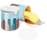 Corporate Personalised Mini Pringles Pots Branded Snacks