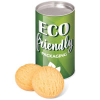 Promotional Mini Shortbread Biscuit Tins UK Printed with a Company Logo by Total Merchandise