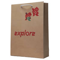 BrandedKraft Paper Carrier Bags with your Logo