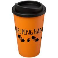 Americano Coffee Mugs in Orange
