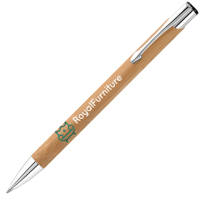 Promotional printed Garland Bamboo Ballpens are great for desks