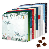 Promotional Desk Advent Calendars Printed with Stock Designs and a Company Logo by Total Merchandise