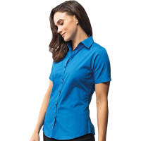 Promotional Womens Short Sleeve Poplin Blouse for Events